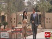 رانيا المشاط  فى حوار لـ CNN بالأهرامات: حركة السياحة عادت لمصر بشكل طبيعى