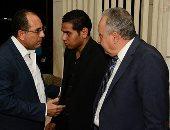 مندوب من رئاسة الجمهورية يقدم واجب العزاء فى وفاة مديحة يسرى - صور