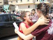 اللغة العربية ترسم الفرحة  على وجوه طلاب الثانوية العامة