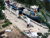 صور.. الشرطة الفرنسية تخلى مخيمين للمهاجرين فى باريس