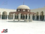 أخبار × 24 ساعة.. بث صلاة القيام اليوم من مسجد عمرو بن العاص بحضور الإمام و3 مصلين