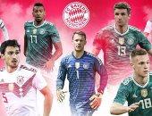 أخبار بايرن ميونخ اليوم عن مشاركة 7 نجوم مع ألمانيا بالمونديال