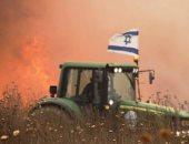 بالونات غزة الحارقة تقضى على 12 ألف فدان من محاصيل المستوطنات الإسرائيلية