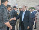 صور.. مساعد أول وزير الداخلية ومحافظ سوهاج يشاركان بإفطار قوات الأمن