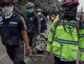 صور.. ارتفاع ضحايا ثوران بركان جواتيمالا لـ33 قتيلا واستمرار البحث عن ناجين