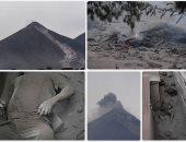 رئيس جواتيمالا يلجأ للكونجرس لإعلان حالة الطوارئ لمواجهة بركان فويجو