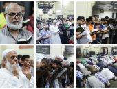 """قرآن وخشوع وسجود .. مئات المصلين فى """"التراويح"""" بمسجد مصطفى محمود"""
