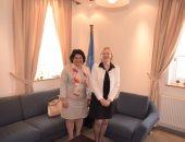سفيرة مصر بقبرص تبحث مع مسئولة أممية المشاركة المصرية الفعالة فى حفظ السلام