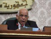 رئيس مجلس النواب يستقبل نقيب المحامين بمكتبه فى البرلمان
