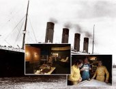 """صور.. """"اكتشاف حطام تيتانيك.. قصة غير مروية"""".. فريق البحث كان فى مهمة للعثور على غواصتين فى الحرب الباردة ووجد السفينة بالصدفة 1985.. ومعرض بواشطن يضم مقتنيات الناجين"""