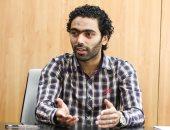 """سرقة حساب حسين الشحات على """"تويتر"""""""