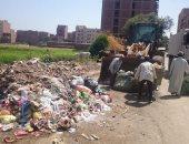رفع 120 طن مخلفات من شوارع مدينة بنى سويف