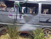 استخراج جثة سائق السيارة السوزوكى بعد يومين من سقوطها بترعة الإسماعيلية