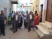 قارئ يناشد محافظ المنيا إنقاذ منزله من الانهيار بسبب تسرب مياه الصرف