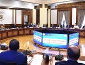 بدء الاجتماع الأسبوعى لحكومة تسيير الأعمال برئاسة المهندس شريف إسماعيل - صور