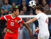 كل أهداف الثلاثاء.. روسيا تتعادل مع تركيا 1-1 قبل المونديال