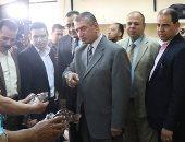 "صور .. محافظ كفر الشيخ: 1.6 مليون جنيه مبيعات منتجات مشروع أسماك ""غليون"""