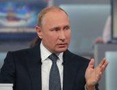 بوتين: نستهدف رفع التبادل التجارى مع الصين لـ 100 مليار دولار