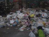 القمامة تحاصر محطة قطار طنطا.. والأهالى يطالبون بمظهر حضارى