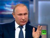 فلاديمير بوتين: الاحتياطى النقدى فى روسيا وصل لـ 450 مليار دولار