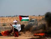والدة الفلسطينية الشهيدة رزان النجار ترتدى ثياب ابنتها وتشارك بمليونية القدس