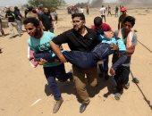 ارتفاع أعداد المصابين الفلسطينيين على حدود قطاع غزة إلى 14