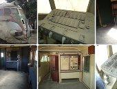 10 معلومات عن قطار الملك فاروق بعد خروجه من الخدمة منذ عام 1967