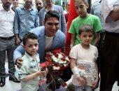 صور وفيديو.. أبوهشيمة يزور مستشفى 57357 ويتفقد التوسعات الجديدة ويتبرع بغرفة رعاية