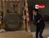 غادة عبد الرازق تتعدى على حنان مطاوع وتشك فيها بعد هروب قاتل ابنتها