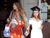 صور.. هيدى كلوم تحتفل بتخرج ابنتها على طريقتها.. اعرف التفاصيل