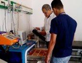 صور.. أطباء جنوب سيناء يتفقدون مستشفى نويبع المركزى استعداداً لعيد الفطر