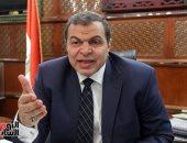 وزير القوى العاملة يكلف بالوقوف على أسباب حادث تسريب غاز الأمونيا بمصنع برج العرب