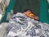 صور.. نقل طفلة مصابة بتشنجات من دار أيتام بشمال سيناء لمستشفى العريش لعلاجها