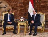 رئيس وزراء إثيوبيا يستجيب للسيسي ويقسم بالله على عدم إلحاق الضرر بـمياه النيل - صور