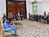 السيسى: ممتن كثيراً لمبادرة الملك سلمان لدعم الأردن الشقيق - صور