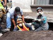 صور.. رجال الانقاذ يواصلون البحث عن ضحايا ثوران بركان جواتيمالا