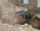 صور.. أمن القليوبية يشن حملة مرافق لإزالة التعديات بشبرا الخيمة