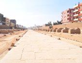 ماذا يتبقى من أعمال الترميم فى مشروع طريق الكباش؟ قطاع المشروعات يجيب