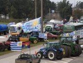 صور.. مزارعون فى أوروجواى يتظاهرون للمطالبة بالإعفاء الضريبى وتوفير الأمن