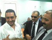 صور.. وكيل لجنة الاتصالات بالبرلمان يشارك فى افتتاح تجديدات مكتب بريد شبرا