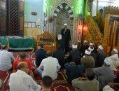 صور.. محافظ الأقصر يشارك فى احتفالية ليلة القدر بمسجد السيد يوسف