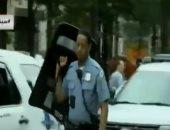 فيديو.. اللقطات الأولى لمحيط وزارة العدل الأمريكية بعد تقارير عن وجود مسلح