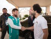"""رئيس الشيشان بعد لقاء """"صلاح"""": الله أكبر .. الأسطورة عندنا"""