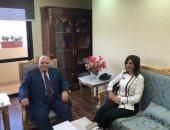 """وزيرة الهجرة تقدم لـ""""الوطنية للانتخابات"""" مقترحات المصريين بالخارج بشأن الانتخابات"""
