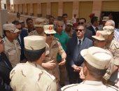 صور.. محافظ الإسكندرية وقائد المنطقة الشمالية يتفقدان مشروع بشائر الخير 2