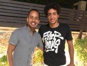"""لاعب الأهلى ينشر صورته مع """"الجاسوس"""" فى كلبش 2"""