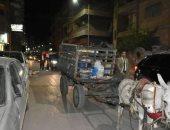 ضبط نباش قمامة تسبب فى إعاقة عملية النظافة بشوارع الشرقية