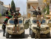 """قوات الجيش الليبى تدك """"مليشيات الوفاق """" فى ضواحى طرابلس"""