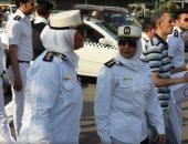 الشرطة النسائية تنجح فى التصدى للتحرش ثالث أيام العيد