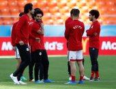 منتخب مصر يواجه السعودية بنفس تشكيل روسيا